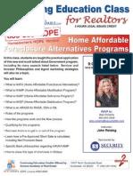 HAFA Class for Realt Estate Agents