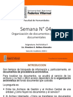 10058949_Archiv II Clase 04 - Organización de documentos