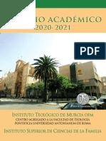Anuario Académico ITM 2020 2021