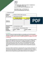 INFORME FINAL PRACTICA - ACT 16 AULA