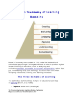 The Three Learning Domains_Cognitive, Affective, Psychomotor