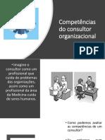 Aula 4 Competências do consultor organizacional