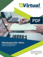 CCD - PROGRAMACION LINEAL