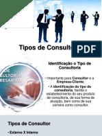 Aula 7 Tipos de consultoria