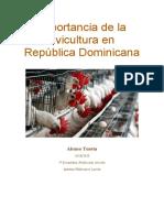 Importancia de la avicultura en República Dominicana.docx