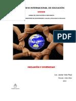Paul, Javier I. Inclusión y Diversidad (Investigación).