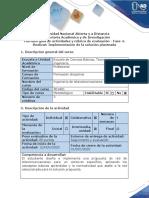 Guía de actividades y rúbrica de evaluación - Fase 4 - Realizar Implementación de la solución planteada (1).pdf