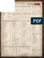 Achtung! Cthulhu - Character Sheet (CoC 7E)