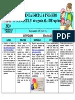 Agenda mensual semanal 14