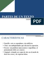 3.- ESTRUCTURA  DE UN TEXTO