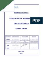 IT 0008-10 INFORME DE ADHERENCIA PUENTE GRUA - KOMAN GRUAS - AC OP - CCHC