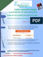 Enunciado - frase y oración Gramática ADES (1)