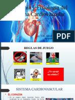 Anatomía y Fisiología Cardiovascular