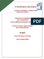 8CM5 LA PURISIMA METODO BLANEY-CRIDDLE