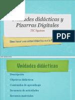 Unidades didácticas y PDI