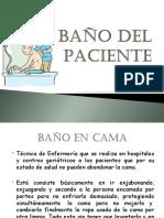 Baño del Paciente
