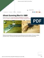 DIY Webley Revolver
