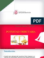 C1 POTESTAD TRIBUTARIA.- TRIBUTACION REGIONAL Y MUNICIPAL Clase 1