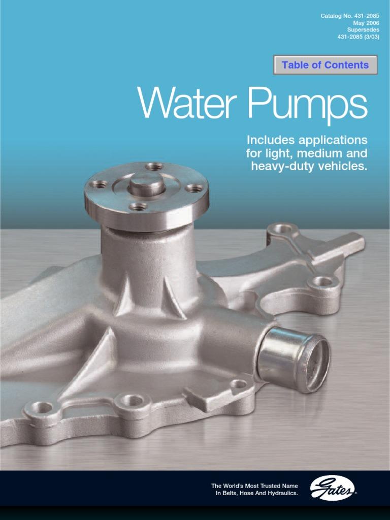 Gates 43128 Water Pump