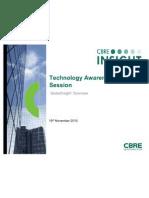 CBRE Technology Overviewv2