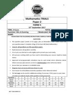 F4 2017 Trials Paper 2