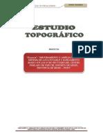 ESTUDIO TOPOGRAFICO CENTRO POBLADO UMUCHI OCHO SECTORES