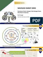 Navigasi Darat dengan GNSS dan Peta Navigasi