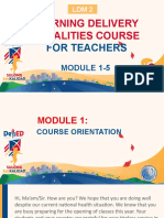 LDM2 MODULE 1 5 for Teachers