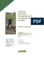 DAI Technical Proposal - USAID-Tanzania-10-007-RFA