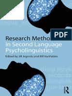 Research Methods in Second Language Psycholinguistics - 2013.pdf