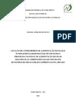 DISSERTAÇÃO_AtuaçãoConselheirosAlimentação