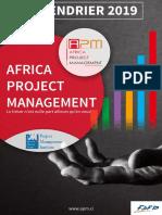 Calendrier de Formation APM 2019