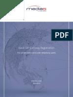 Basic SIP Gateway Registration