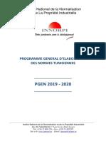 PGEN 2019-20