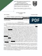 ANI constatare // conflict de interese președintele Ștefan Vodă
