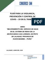 Plan COVID 2020 - CSL
