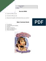 Customer Service ESL Worksheet