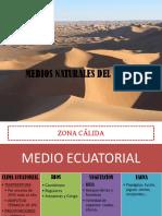 TEMA 5 MEDIOS NATURALES DEL MUNDO
