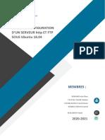 Guide de configuration d'unserveur Apache et FTP Sécurisé sous ubuntu 18.04
