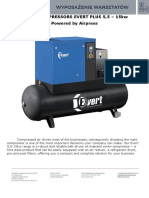 Offer for Screw Compressors EVERT PLUS 5,5-15KW ENG
