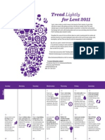 Tread Lightly for Lent 2011 - National Council of Churches of Christ