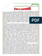 Massimo Scaligero Scienza Dell'Io e Concentrazione