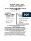 A Practical Guide to Recycling in the Domestic Church - Annunciation Catholic Church