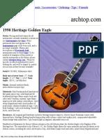 1990 Heritage Golden Eagle