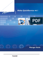 Aloha QuickService Manager Guide v6.1