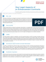 Key Legal Aspects of Production Enhancement Contracts