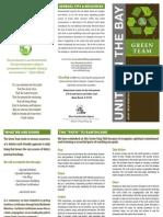 Green Church Brochure - Unity Church on the Bay