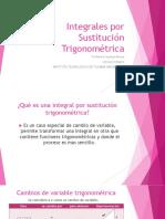 Integrales por Sustitución Trigonométrica2