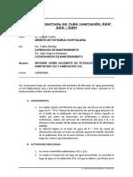 INFORME DE INCIDENTE DE ANIEGO DE HABITACION 322 Y 323