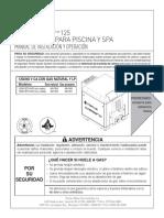 MASTERTEMP TM 125 CALENTADOR PARA PISCINA Y SPA MANUAL DE INSTALACIÓN Y OPERACIÓN.pdf